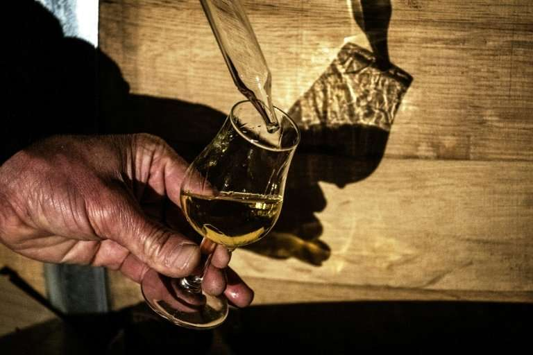 Despite marked growth, France has no more than four or five distilleries capable of large-scale whisky production