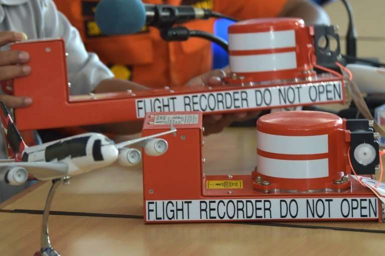 Despite the name, the two boxes—consisting of the flight data recorder and the cockpit voice recorder—are in fact bright orange