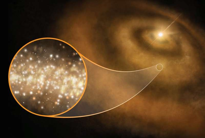 Discovery in the sky with nanodiamonds