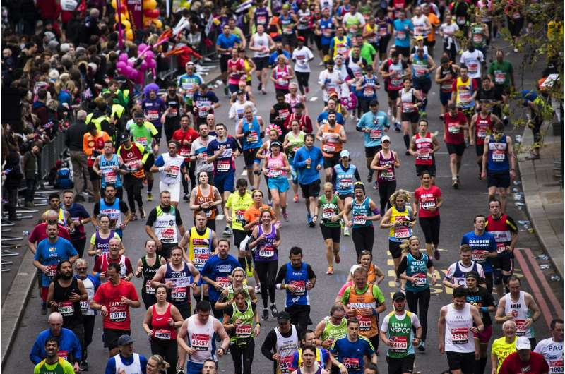 Does running a marathon suppress your immune system?