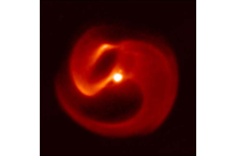 Doomed star in Milky Way threatens rare gamma-ray burst