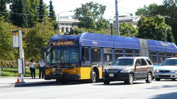 Do private shuttles affect the reliability of public transit?