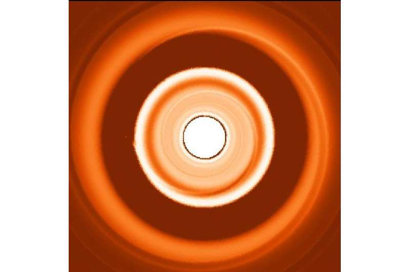 Double dust ring test could spot migrating planets