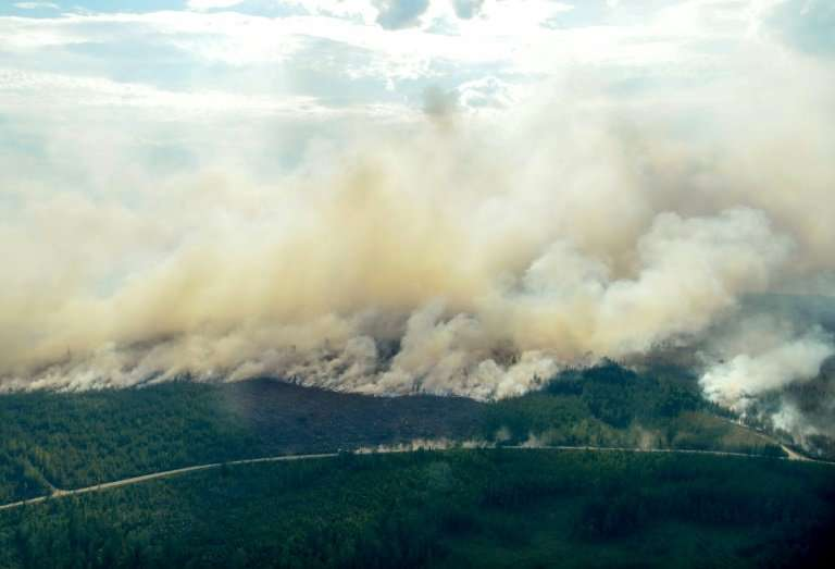 Dozens of forest fires are still raging, and the risk of more is 'extreme', authorities say