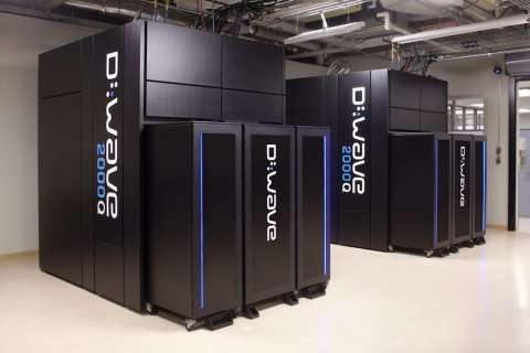 D-Wave demonstrates first large-scale quantum simulation of topological state of matter