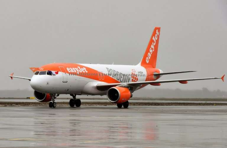 """EasyJet hailed an """"excellent performance"""" in the first half of the group's financial year"""