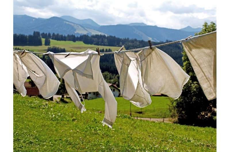 Eco detergents – for greener whites in the airing cupboard