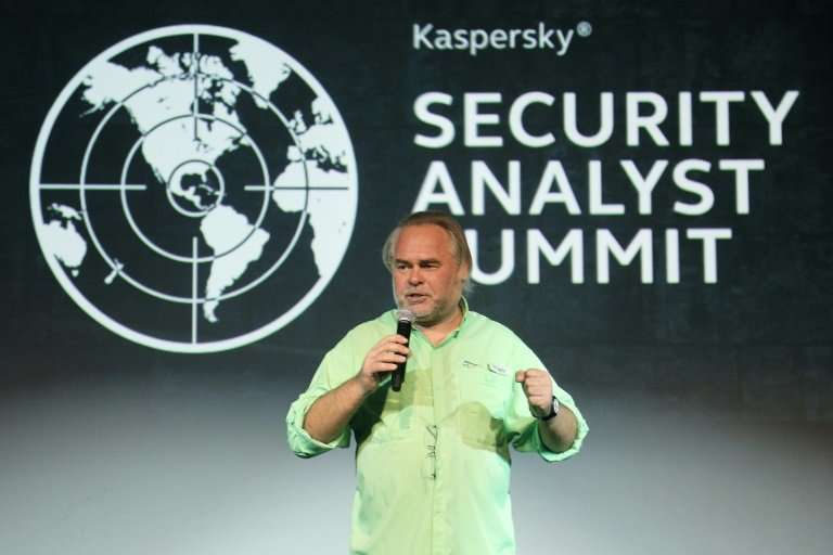 Eugene Kaspersky, CEO of Kaspersky Lab, denies ties to the Russian government