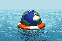 Even in best-case emission scenarios, sea levels may still rise until 2300