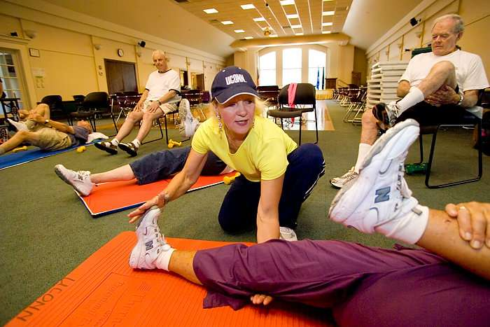 Exercise can improve Alzheimer's symptoms