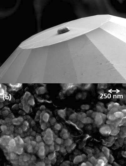 Fabricating nanocrystalline diamonds to study materials under extreme conditions