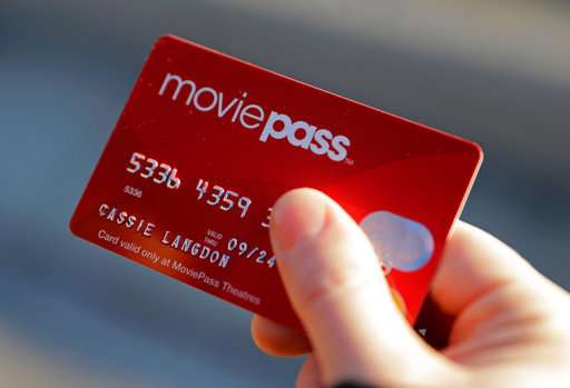 Faced with losses, MoviePass discount tix service hikes fee