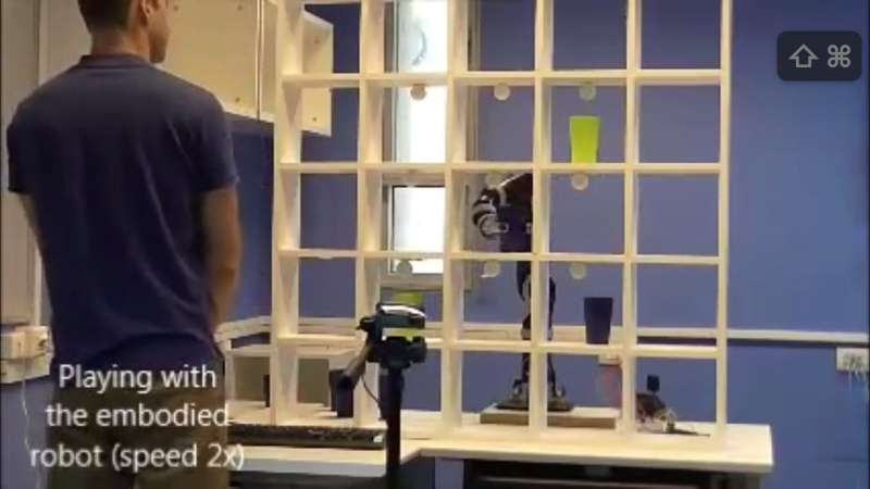First robotic system plays tic tac toe to improve task performance