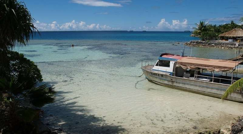 Fishing pressure and climate change challenge Tokelau's food security
