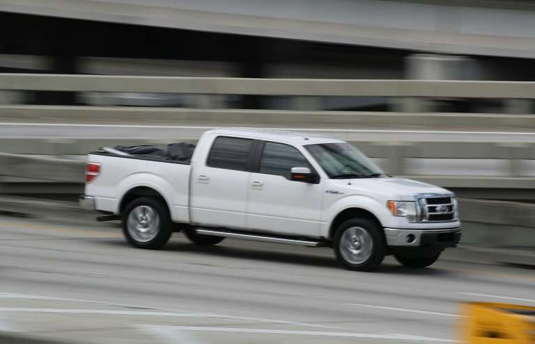 Ford has announced that a factory fire at a major parts supplier halted production of its best-selling F-150 light duty truck ac