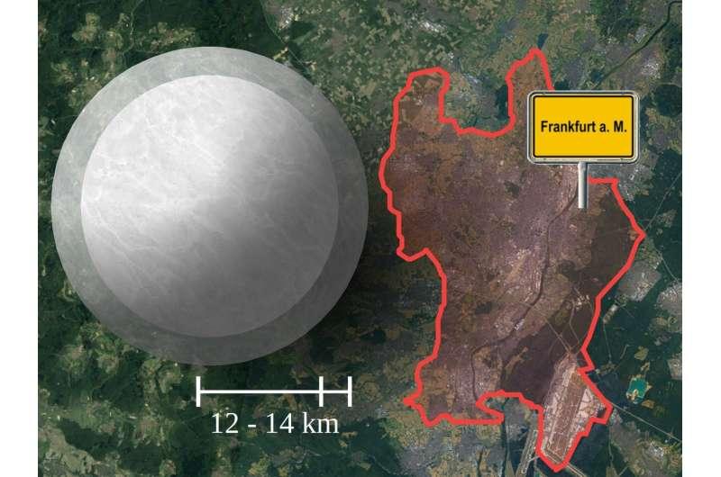 Frankfurt physicists set limits on size of neutron stars