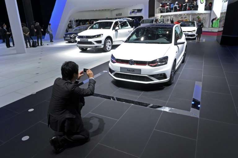 German mammoth Volkswagen, Europe's biggest carmaker, saw its sales surge 13.8 percent despite the dieselgate emissions scandal