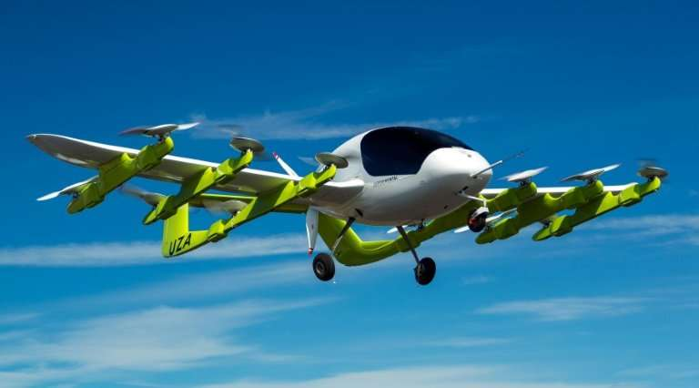 Google founder Larry Page's startup Kitty Hawk , testing flying taxis such as this model in New Zealand, is moving a step closer