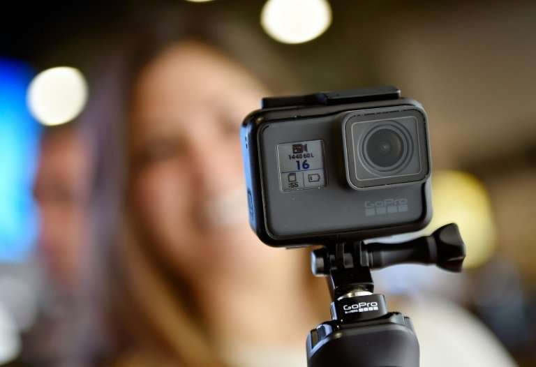 GoPro, which makes cameras like this one displayed at the 2018 Consumer Electronics Show, said it would end production in China