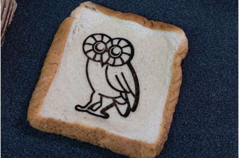 Graphene on toast, anyone?