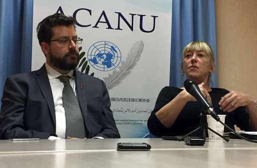 Group: US, Russia block consensus at 'killer robots' meeting