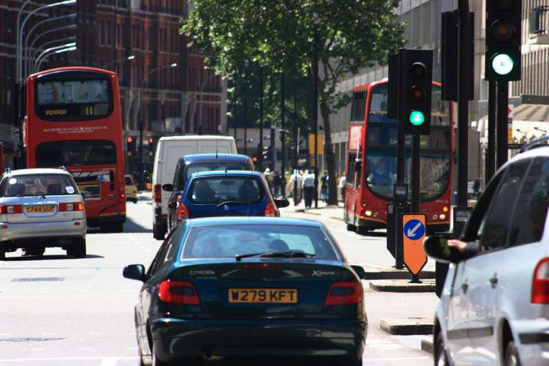 Half of London car crashes take place in 5% of the city's junctions