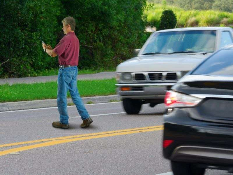 Have smartphones, pot become deadly for pedestrians?