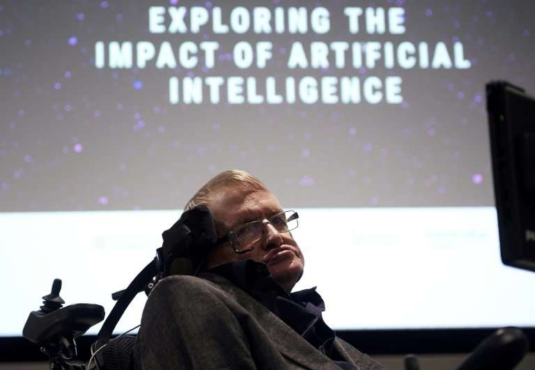 Hawking died on Wednesday aged 76.