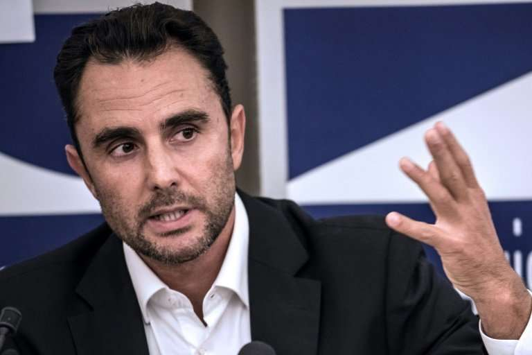 """Herve Falciani, seen here in 2015, is known as the """"the man who terrifies the rich"""" for leaking documents that alleged"""