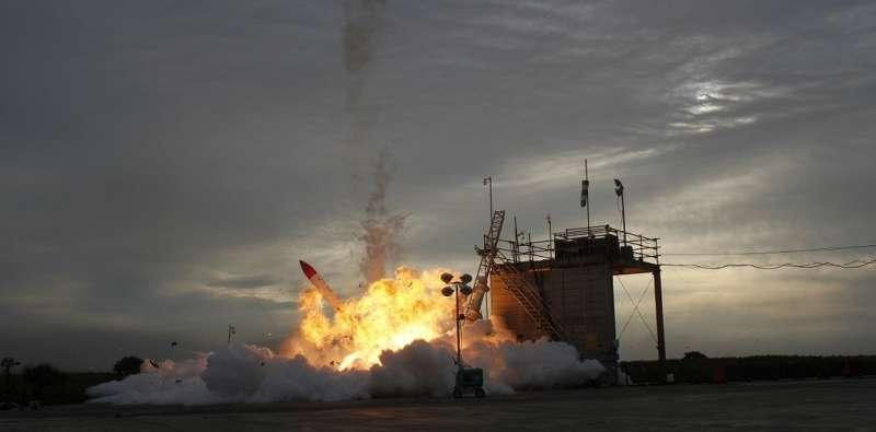 High-speed cameras show MOMO-2 launch failure in unprecedented detail