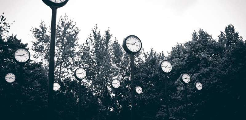 How our minds construct the past, present and future depends on our relationship with time