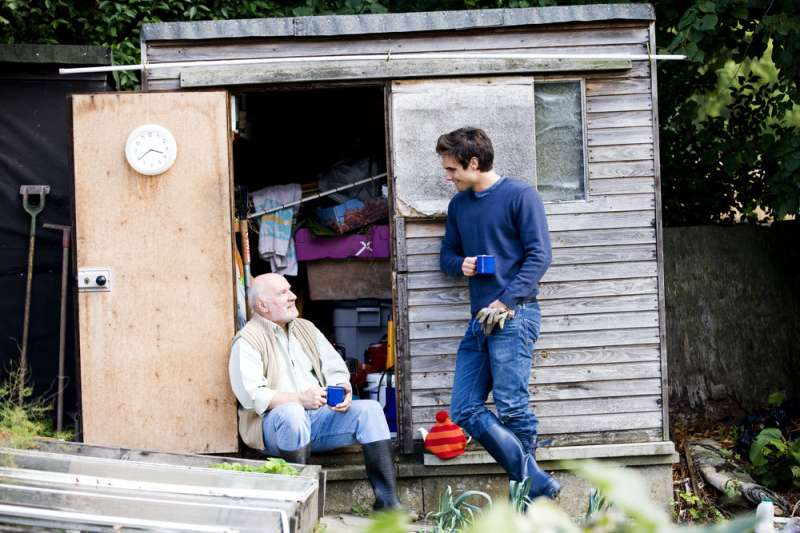 How sheds can help men stave off loneliness after retirement – according to our new research