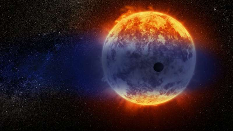 Hubble finds far-away planet vanishing at record speed