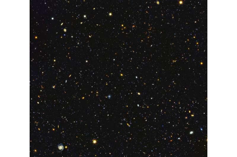 Hubble paints picture of the evolving universe