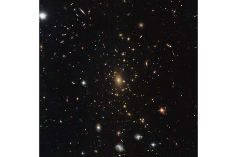Hubble's dazzling display of galaxies
