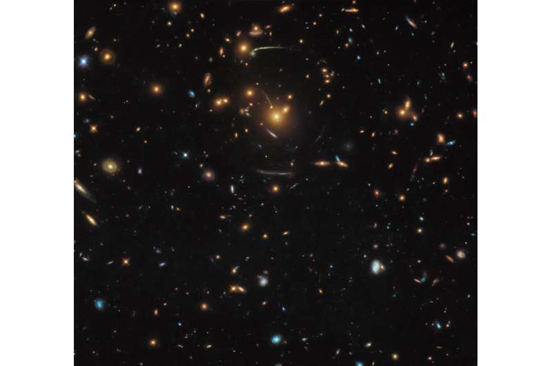 Hubble's warped view of the universe