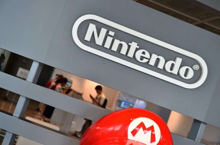 Huge sales of games including  'Mario Tennis Aces' and 'Donkey Kong Country: Tropical Freeze' helped boost Nintendo's bottom lin