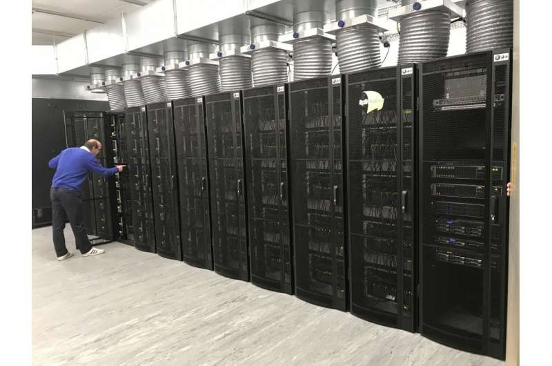 'Human brain' supercomputer with 1 million processors switched on for first time
