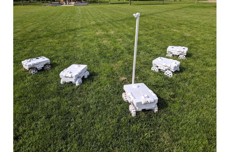 Illinois' crop-counting robot earns top recognition at leading robotics conference