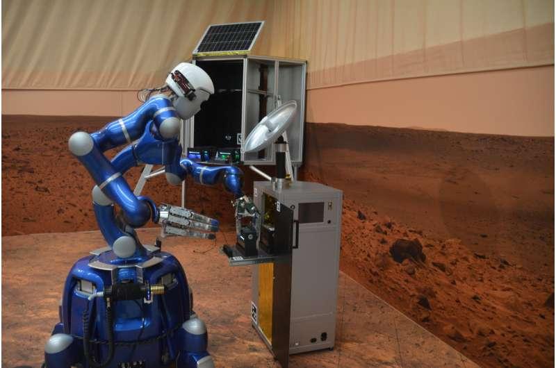 Image: DLR's Rollin' Justin robot