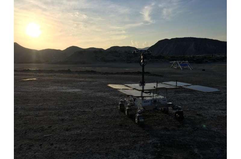 Image: ExoMars rover prototype