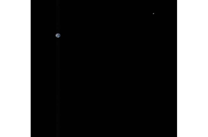 Image: From the Earth, moon and beyond