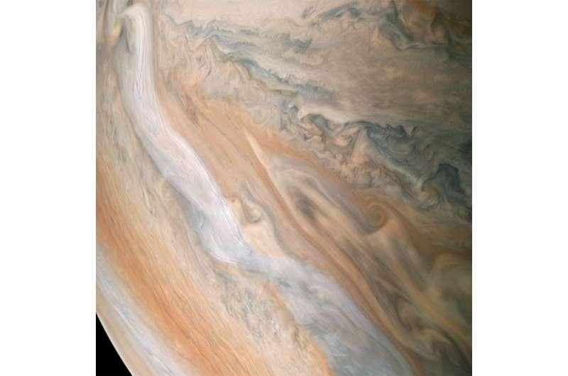 Image: Jovian jet stream