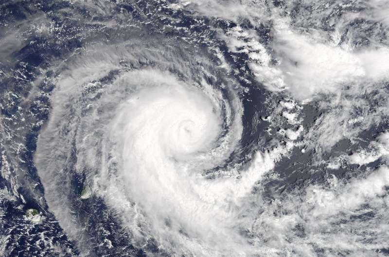 Image: NASA sees Tropical Cyclone Berguitta heading toward Mauritius