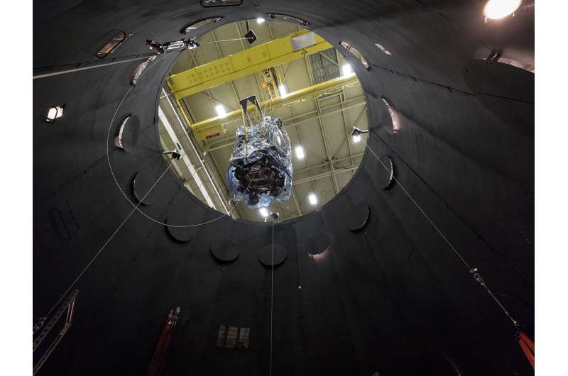 Image: Prepping the Parker Solar Probe for space