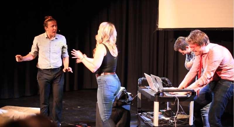 **Improbotics: bringing machine intelligence into improvised theatre