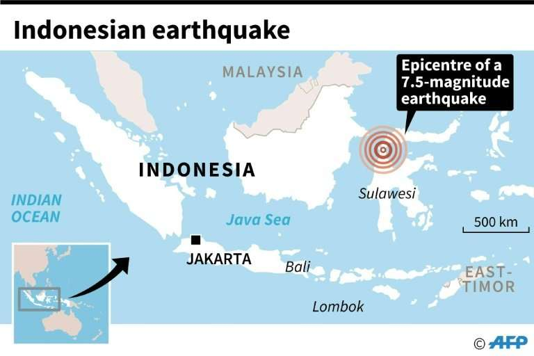 Indonesian earthquake