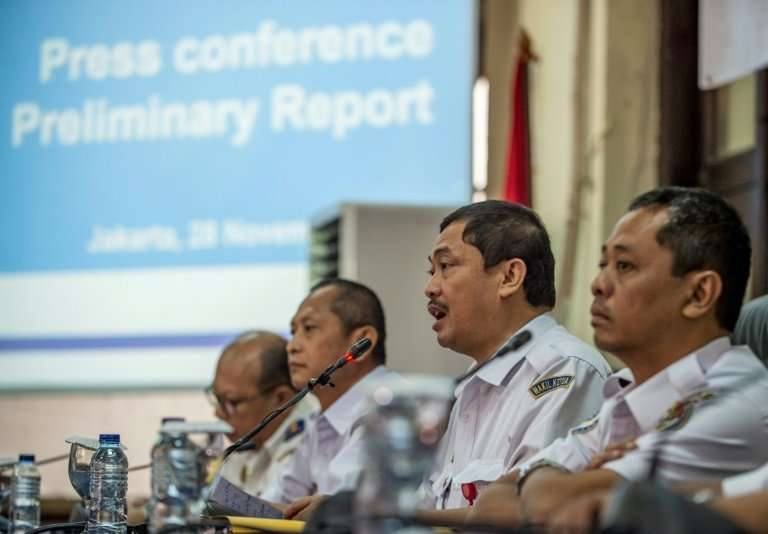 Indonesia's National Transportation Safety Commission chastised Lion Air over its safety culture