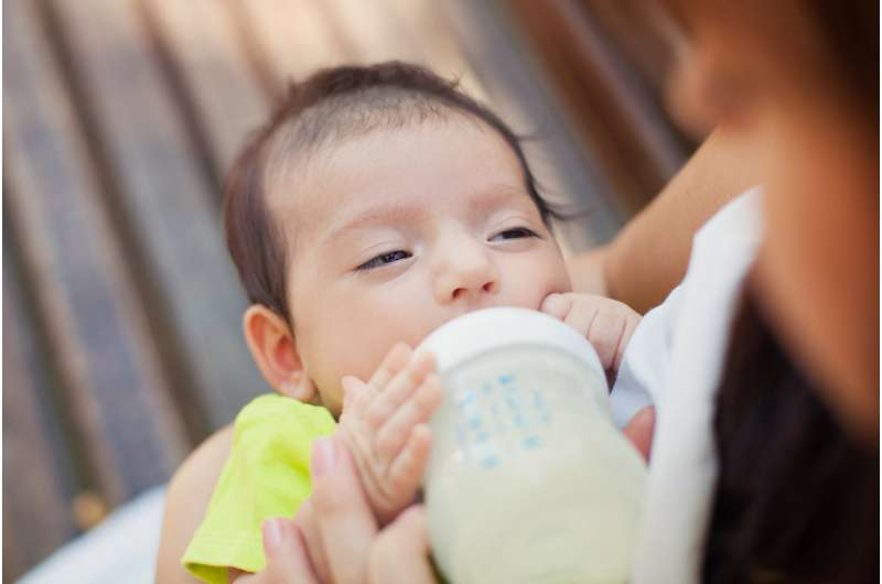 Infant formula companies are behind the guidelines on milk allergy, and their sales are soaring