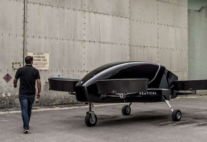 Intercity travel will take to the sky in vertical mode